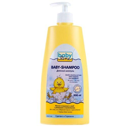 Купить BabyLine Шампунь для младенцев (с дозатором) 500 мл, Средства для купания