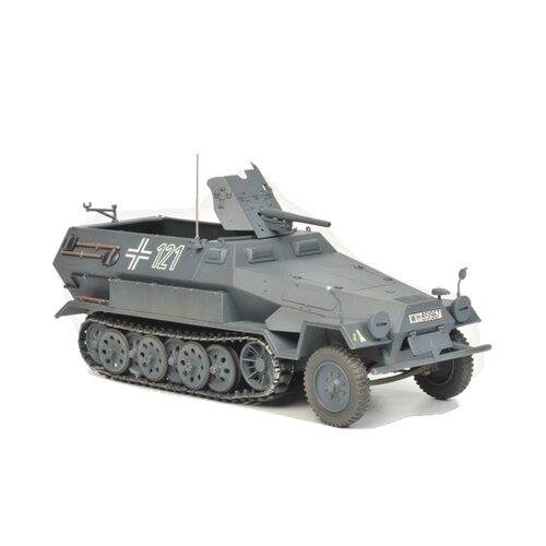 Купить Сборная модель ZVEZDA Немецкий бронетранспортер Sd.Kfz.251/10 AUSF B с 37-мм орудием Ханомаг (3588) 1:35, Сборные модели
