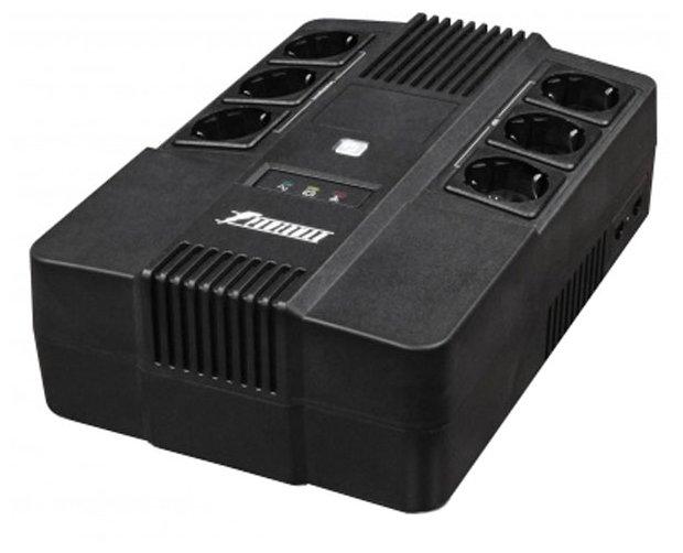 Интерактивный ИБП Powerman Brick 800 — цены на Яндекс.Маркете