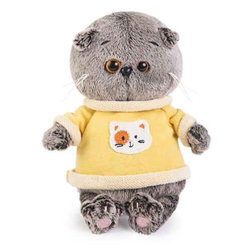 Купить Мягкая игрушка Basik&Co Кот Басик baby в толстовке 20 см, Мягкие игрушки