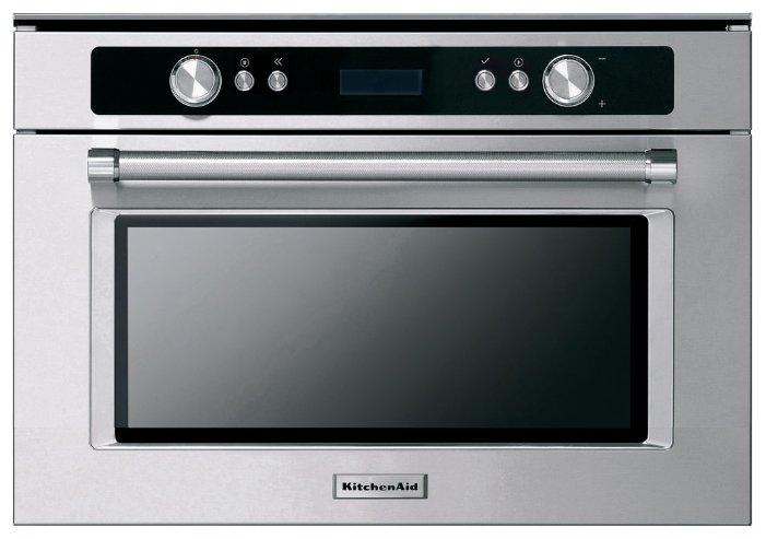 Микроволновая печь встраиваемая KitchenAid KMMXX 38600 — купить по выгодной цене на Яндекс.Маркете
