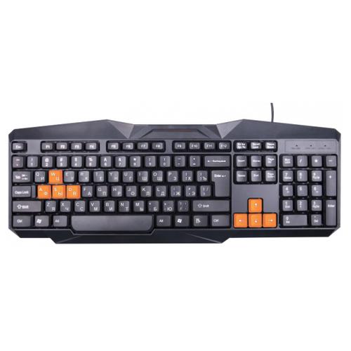 Клавиатура Ritmix RKB-152 Black USB клавиатура ritmix rkb 500 antagonist