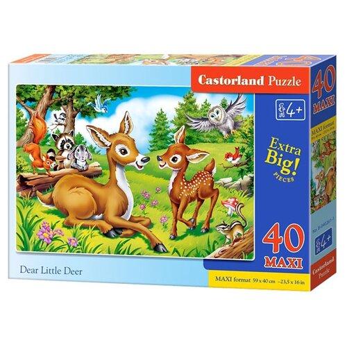 Пазл Castorland Dear Little Deer (B-040261), 40 дет.Пазлы<br>