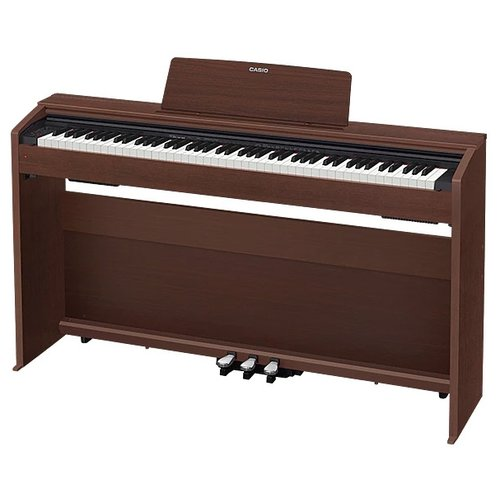 Фото - Цифровое пианино CASIO PX-870 oak цифровое фортепиано casio privia px 870bn 88клав коричневый