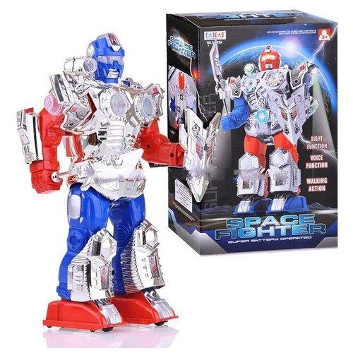 Купить Робот Shantou Gepai Space Fighter 6009A серо-красно-синий, Роботы и трансформеры