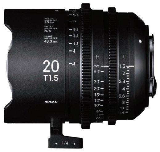 Объектив Sigma 20mm T1.5 Canon EF