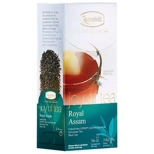 Чай черный Ronnefeldt Joy of Tea Royal Assam в пакетиках , 15 шт.