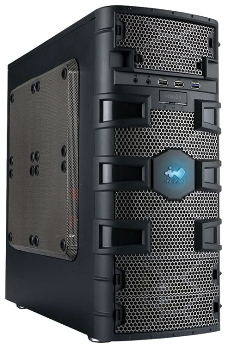 IN WIN Компьютерный корпус IN WIN BR661 Dragon Slayer 500W Black