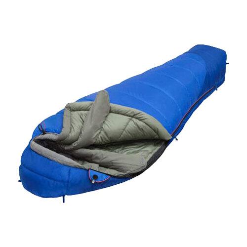 Спальный мешок Alexika Mountain Compact синий с правой стороны палатка alexika rondo 2 plus
