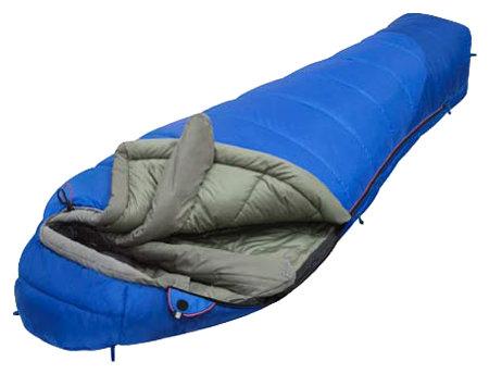 Спальный мешок Alexika Mountain Compact синий правый