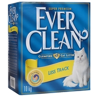 Наполнитель Ever Clean Less Track/Less Trail (10 л/10 кг)