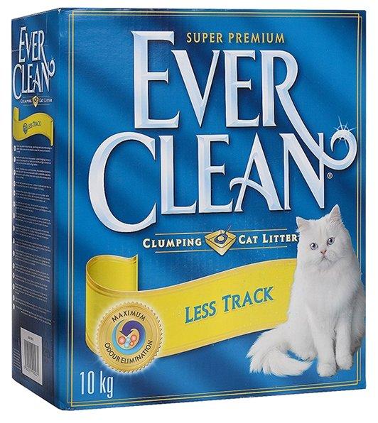 Комкующийся наполнитель Ever Clean Less Track/Less Trail 10 л/10 кг