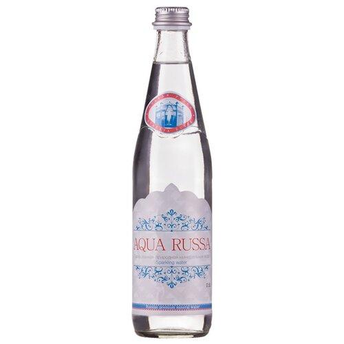 Минеральная вода Aqua Russa газированная, стекло, 0.5 лВода<br>