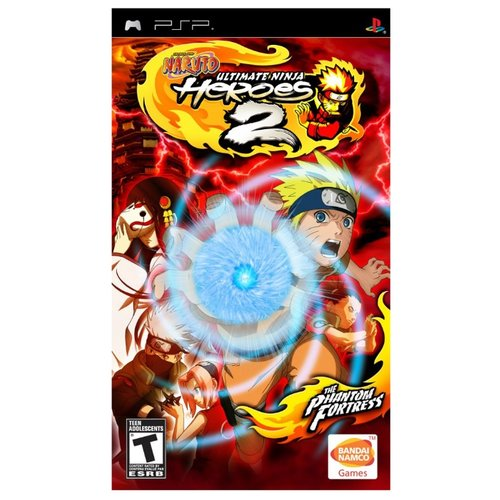 Игра для PlayStation Portable Naruto: Ultimate Ninja Heroes 2