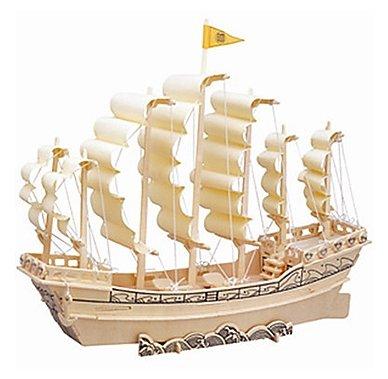 Модель Wooden Toys Парусник Династии Минь P131