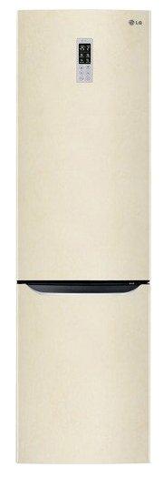 Холодильник LG GW-B489SEQL бежевый