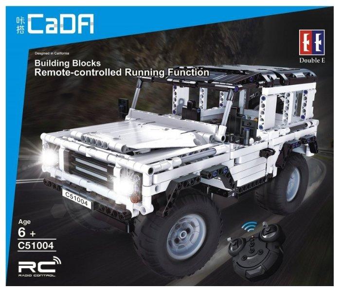Электромеханический конструктор Double Eagle CaDA Technic C51004W Белый джип