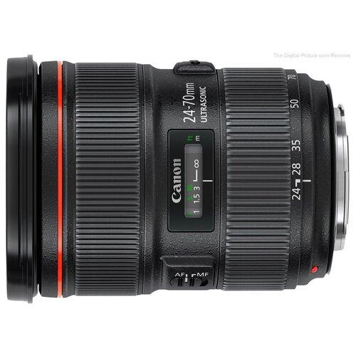 Фото - Объектив Canon EF 24-70mm f/2.8L II USM черный объектив canon ef 35 mm f 1 4 l ii usm