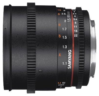Объектив Samyang 85mm T1.5 AS IF UMC VDSLR II Sony E — купить по выгодной цене на Яндекс.Маркете