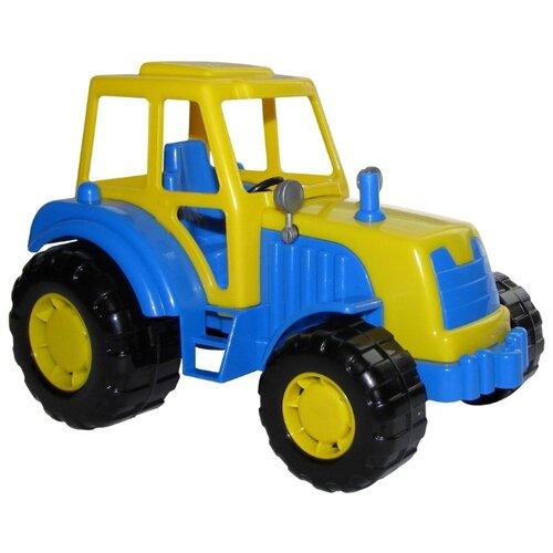 Трактор Полесье Мастер (35240) 21 см полесье трактор крепыш