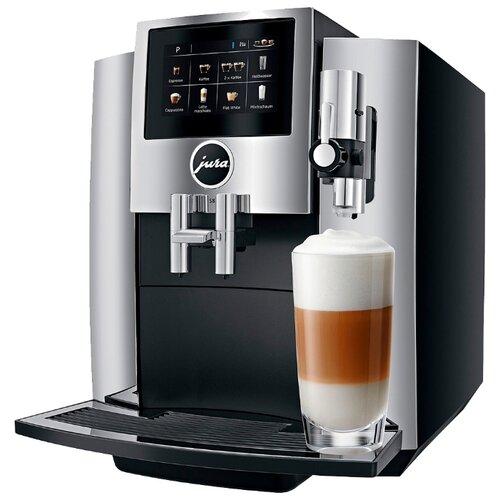 Кофемашина Jura S8 chrome кофемашина jura z6 satinsilber серебристый черный
