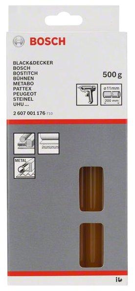 BOSCH Клеевые стержни 11х200 мм, 12 шт