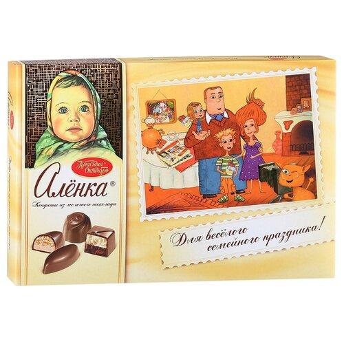Набор конфет Алёнка молочный шоколад 185 г набор конфет красный октябрь вдохновенье темный шоколад 240г