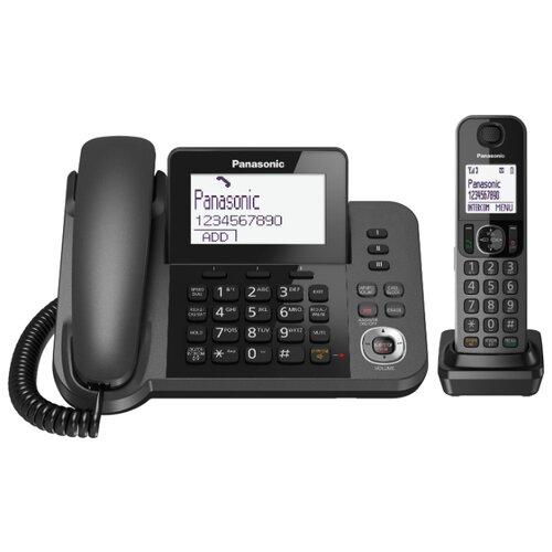 Радиотелефон Panasonic KX-TGF320 черный