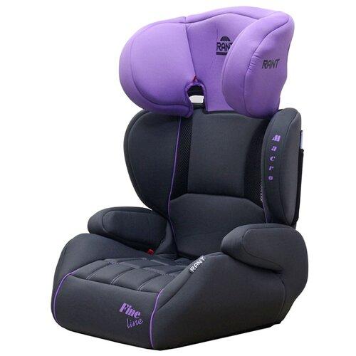 Автокресло группа 2/3 (15-36 кг) RANT Macro, purple