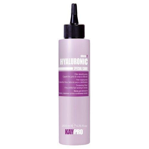 KayPro Hyaluronic Гель филлер для волос с гиалуроновой кислотой для плотности, 200 мл краска для волос kaypro kaypro ka037lwbolx4