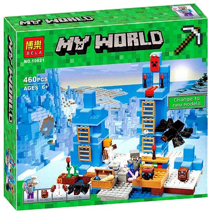 Конструктор BELA (Lari) My World 10621 Ледяные шипы