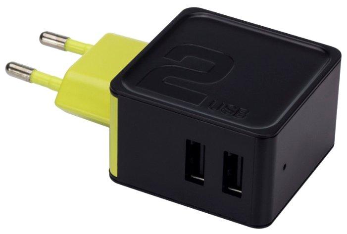 Сетевая зарядка Rock Sugar Travel Charger 2 USB