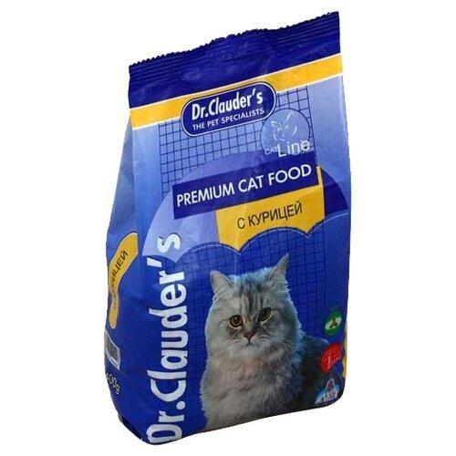 Корм для кошек Dr. Clauders Premium Cat Food с курицей (0.4 кг)Корма для кошек<br>