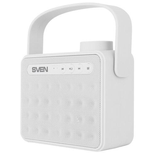 Портативная акустика SVEN PS-72 white портативная акустика pred technologies smart cube white