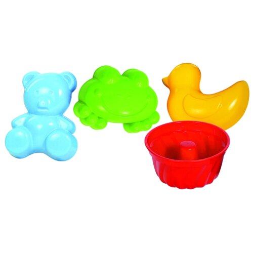 Купить Набор Gowi 558-51 Свен голубой/зеленый/желтый/красный, Наборы в песочницу