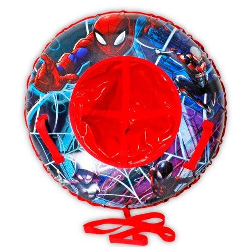 Тюбинг 1 TOY Человек-Паук Т10469 синий/красный