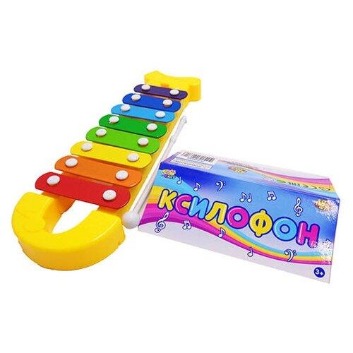 Купить DoReMi ксилофон D-00052 желтый, Детские музыкальные инструменты