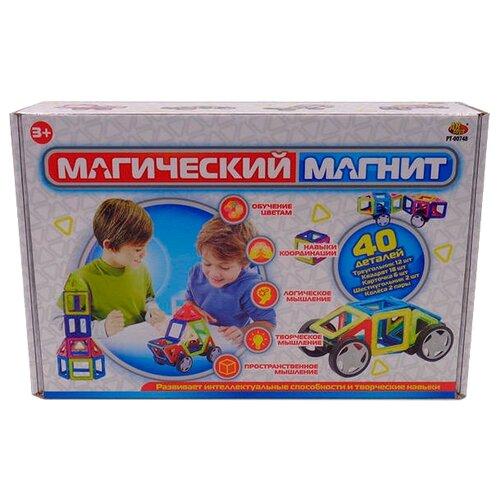 Магнитный конструктор ABtoys Магический магнит PT-00748 магнитный конструктор abtoys магический магнит с магнитом внутри 32 детали pt 00863