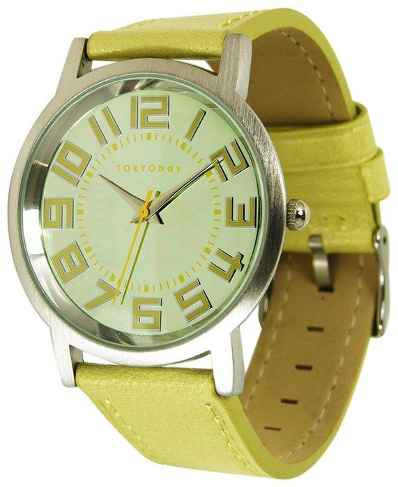 Наручные часы TOKYObay Pearl Track Large Yellow