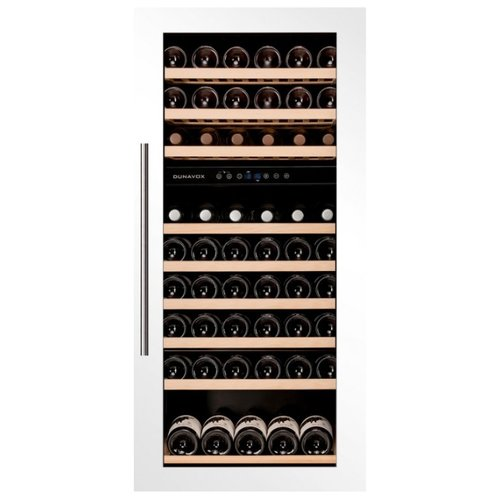 Встраиваемый винный шкаф Dunavox DAB-89.215DW встраиваемый винный шкаф smeg cvi138rws2