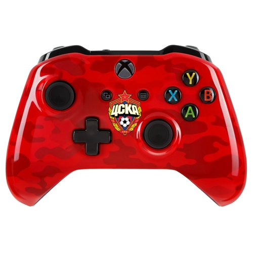 Фото - Геймпад RAINBO Xbox One Wireless Controller FC CSKA красно-армейский геймпад rainbo xbox one wireless controller khl series салават юлаев