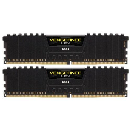 Оперативная память Corsair Vengeance LPX DDR4 2400 (PC 19200) DIMM 288 pin, 8 ГБ 2 шт. 1.2 В, CL 16, CMK16GX4M2Z2400C16