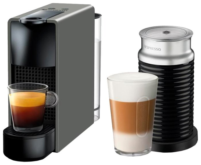 Капсульная кофемашина Nespresso C30 Essenza Mini Aeroccino