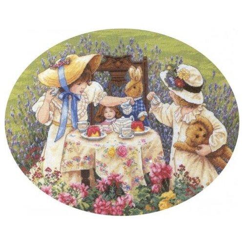 Купить Dimensions Набор для вышивания Afternoon Tea (Полуденный чай) 40, 6 х 30, 4 см (35152), Наборы для вышивания