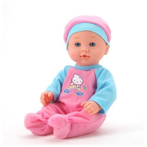 цена на Интерактивная кукла Карапуз Hello Kitty Пупс 30 см 11456-RU
