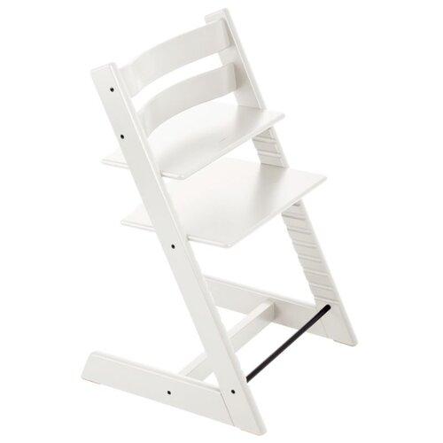 Купить Растущий стульчик Stokke Tripp Trapp из бука, белый, Стульчики для кормления