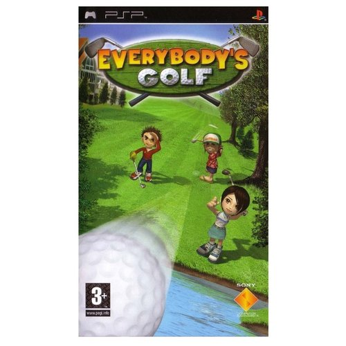 Игра для PlayStation Portable Everybody's Golf Portable