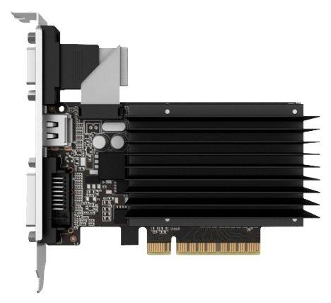 Видеокарта Palit GeForce GT 730 902MHz PCI-E 2.0 1024MB 1800MHz 64 bit DVI HDMI HDCP Silent