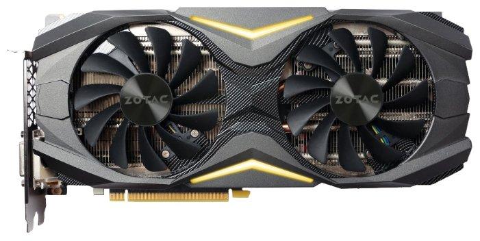 ZOTAC Видеокарта ZOTAC GeForce GTX 1080 1683Mhz PCI-E 3.0 8192Mb 10000Mhz 256 bit DVI HDMI HDCP