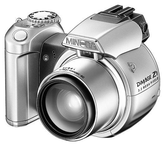 Фотоаппарат Minolta DiMAGE Z1
